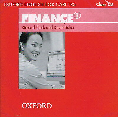 Oxford English for Careers FINANCE 1 Class CD | Clark Baker @NEW & SEALED@