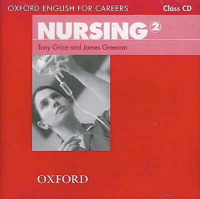 Oxford English for Careers NURSING 2 Class CD | Grice Greenan @NEW & SEALED@