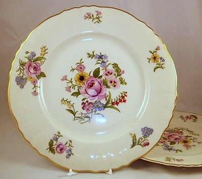 Syracuse PORTLAND 2 Dinner Plates Federal Shape GREAT CONDITION