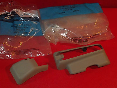 NOS NEW 1996 1997 Lincoln Continental seat track to floor covers insulators
