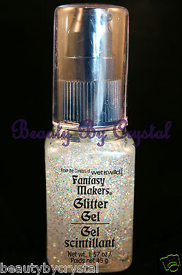 Wet N Wild Fantasy Makers Body & Hair Glitter Gel- MYSTERIOUS 11230 Iridescent