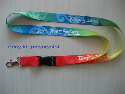 2008 BEIJING OLYMPIC GAMES OFFICIAL LANYARD, AUTHENTIC!