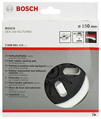 Bosch GEX150 GEX150AC Soft Hook Loop Backing Pad GEX 125-150AVE Turbo 2608601115