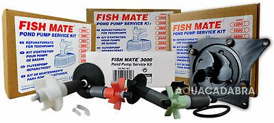 Fish Mate Impeller Service Kit Pond Pump Fishmate All Sizes Available