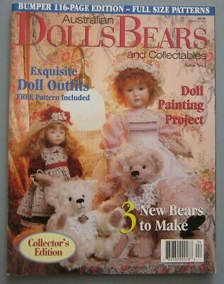 Australian Dolls Bears & Collectables - Vol 6 No 5 Issue 35 - 25% Bulk Discount