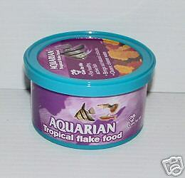 AQUARIAN TROPICAL FLAKE FOOD 25g Aquarium Fish