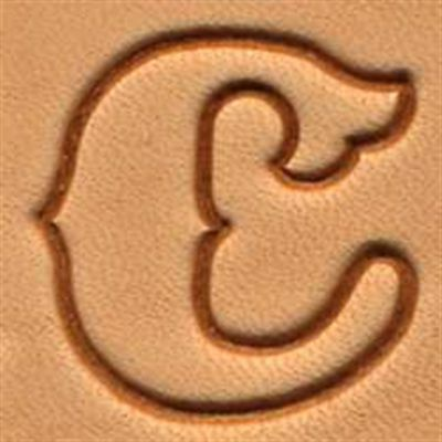 """Craftool 1"""" Standard Alphabet Stamp Set 8132-00 by Tandy Leather"""