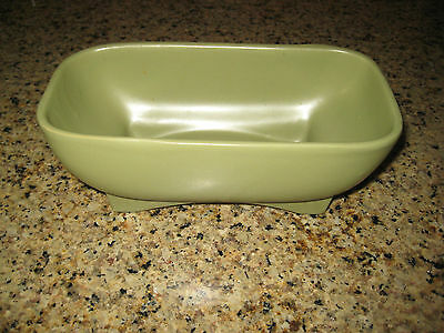 McCoy Floraline Art Pottery mid-century footed planter/vase No. 418 - great!