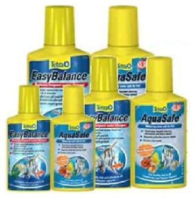 Tetra Easy Balance & Aquasafe Twin Pack 100Ml 250Ml 500Ml Fish Tank Treatment