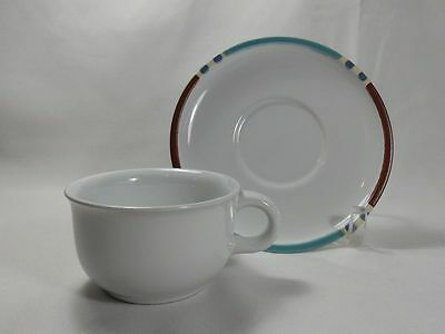 Dansk Mesa White Sand Cup & Saucer