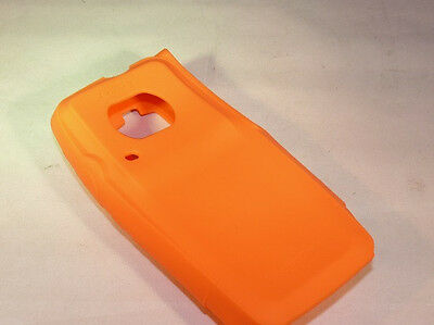 Orange Silicone Protective Case For Motorola Xpr6550 Xpr6580 Trbo Radios