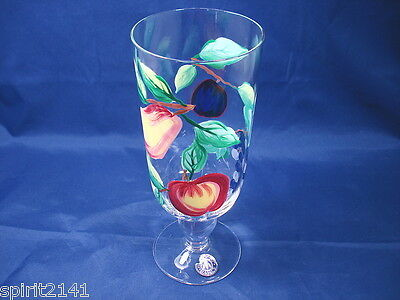 Ice Tea Glass ORCHARD by Block Excellent Condition!!   109100