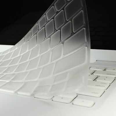NEW ARRIVAL! CLEAR TPU Keyboard Cover Skin for  OLD Macbook White A1342