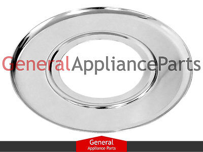 "GE Roper Gas Stove Range Cooktop 7 1/2"" Burner Chrome Drip Pan Bowl WB32X113"