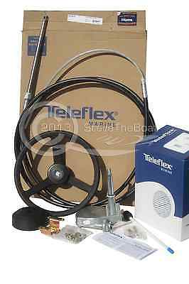 12ft NEW 150HP+ Teleflex (SeaStar)  Complete Boat Steering System