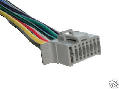 Alpine Wiring Harness Stereo 16 pin Wire Connector A16A