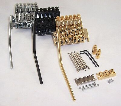 Floyd Rose Template Size Double Locking Tremolo Unit /cr/bk/gd / Ts1