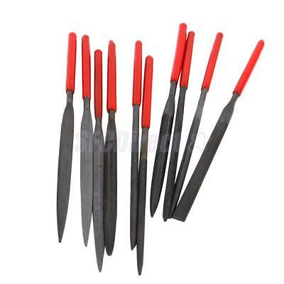 10 Quality Lapidary Ceramic Tool Jewelers Woodwork Micro Diamond Needle File Set