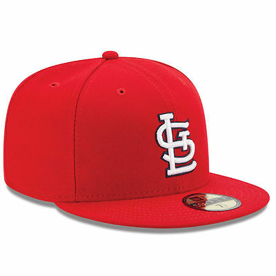 New Era 59FIFTY ST. LOUIS CARDINALS On Field MLB Baseball Cap Fitted Game Saint