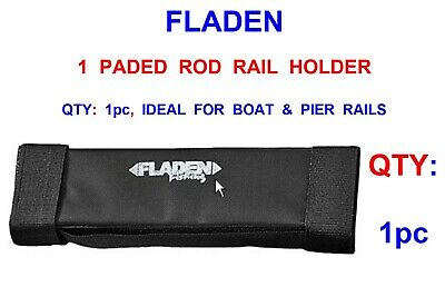 Rod Rail Rest Holder For Boat Pier Sea Fishing Beachcaster Rods Using Rigs Lures