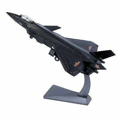 J-20 China J20 Stealth Combat Fighter Plane Aircraft 1/60 Model Metal Alloy