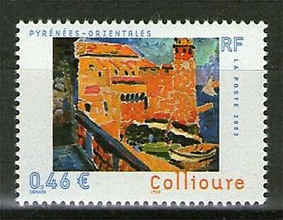 Timbre 3497 Neuf Xx Luxe - Collioure : Le Phare Oeuvre D'andre Derain