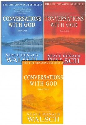 Conversations with God Collection Neale Donald Walsch 3 Book Set Series 1 to 3