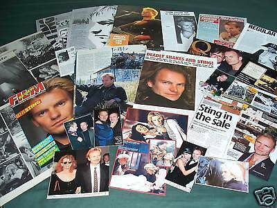Sting - Music - Celebrity- Clippings Pack