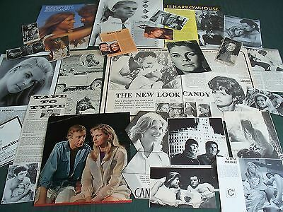 Candice Bergen - Film Star - Clippings- Cuttings Pack