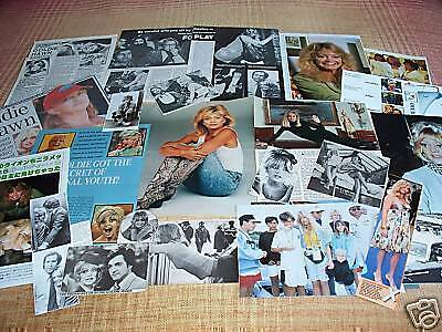 Goldie Hawn  - Film Star - Clippings/ Cuttings - Pack