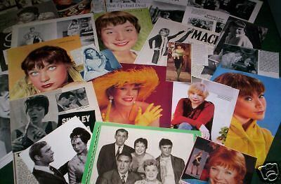 Shirley Maclaine  - Film Star -Clippings - Cuttings- Pack