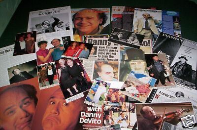 Danny Devito - Film Star  - Clippings /cuttings Pack