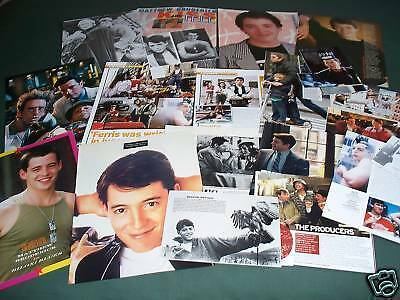 Matthew Broderick - Film Star Clippings/ Cuttings Pack