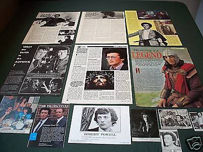 Robert Powell  -Film  - Clippings / Cuttings - Pack