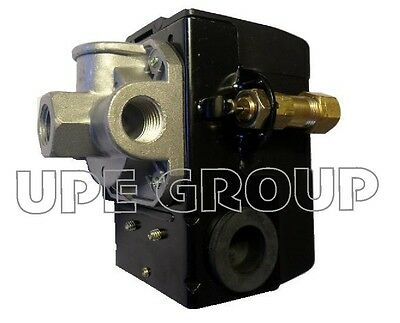 25 Amp Pressure Switch Valve Compressor Heavy Duty   140-175  4 Port