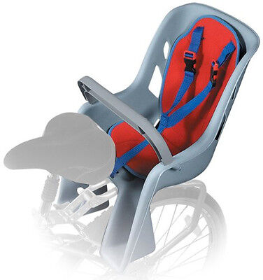NEW Bell Classic Bicycle Child Carrier Bike Seat Thick Pad 5 Point Harness