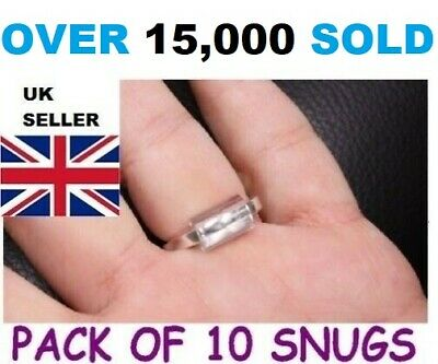 Ring Snuggies,Snugs - Pack Of 10 Adjusters - Loose Ring,Wrong Size Fix Reducer