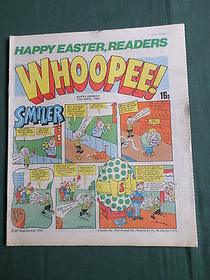 Uk Comic - Whoopee - 17 April 1982- Easter Issue