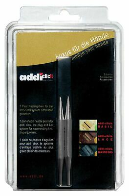 addi Click Lace SHORT Interchangeable Circular Knitting Needle Tips