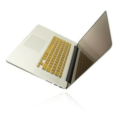 "METALLIC GOLD Keyboard Cover for NEW Macbook Pro 15"" A1398  with Retina display"