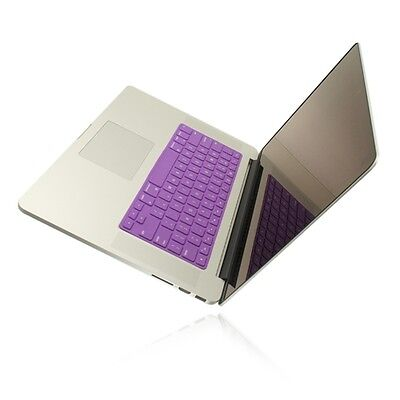 """SL PURPLE Keyboard Cover Skin for NEW Macbook Pro 15"""" A1398  with Retina display"""