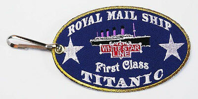 "TITANIC - White Star Line Retro Suitcase ""LUGGAGE TAG"" - Cruise In Style..."