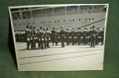 US Navy 1932/33 Photo Lots of Navy Brass In Full Parade Dress! Who Are They?