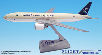 Flight Miniatures Saudi Arabian Airlines 1997 Boeing 777-200 1/250 Scale Mint