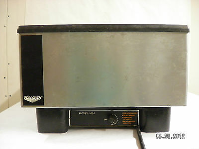 Vollrath 1001 Food Warmer Serving Silver Catering Buffet With Large Tray Lid