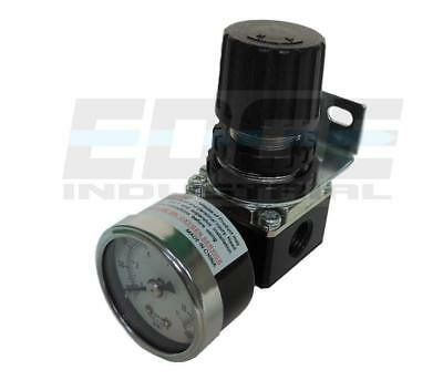 "1/4"" Mini Regulator With Gauge For Compressor Compressed Air Line Pressure"