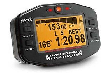 Aim Mychron 4 Tach, Gauge, Data Logger for Racing Go Kart, Quarter Midget, Cart