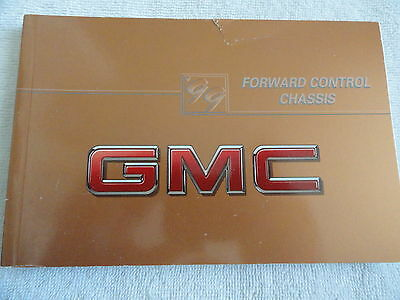 1999 GMC Forward Control Chassis Owners Manual