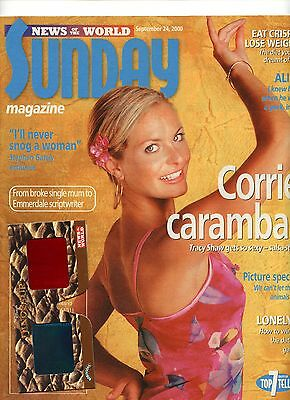Tracy Shaw - Sunday Mag - 24 Sept 2000