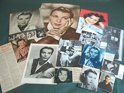 Claire Bloom  - Film Star Clippings /cuttings Pack